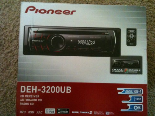 Pioneer Deh-3200Ub Cd Receiver With Ipod Direct Control & Usb Input