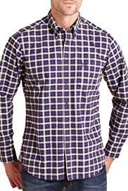 Blue Harbour Slim Fit Pure Cotton Bold Checked Oxford Shirt [T25-5785B-S]