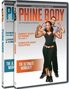 Phine Body By Phaedra & Apollo Donkey Booty Extreme 2 DVD Set