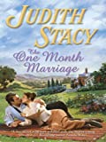 img - for The One Month Marriage book / textbook / text book