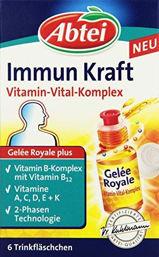 Abtei Erkältung Immun Kraft Vitamin-Vital-Komplex Ampullen, 1er Pack (6 x 11 ml)