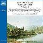 Popular Poetry, Popular Verse Hörbuch von William Shakespeare, John Milton,  more Gesprochen von: Anton Lesser, Simon Russell Beale