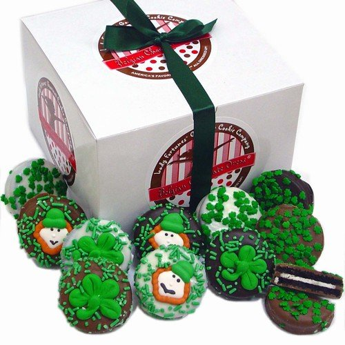 Belgian Chocolate St. Patrick's Day Oreos®- Gift Box of 12