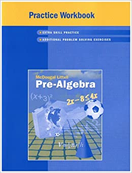 mcdougal littell pre algebra common core standards