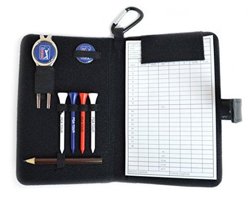 PGA-Tour-Golf-Leather-Organiser-Black