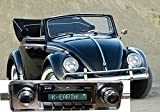 1958-1967 Volkswagen Bug Beetle USA-630 II High Power 300 watt AM FM Car Stereo/Radio with iPod Docking Cable