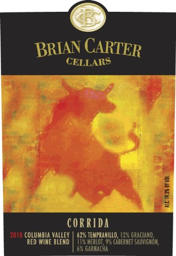 "2010 Brian Carter Cellars ""Corrida"" Columbia Valley Red Wine 750 Ml"