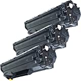 3 Inkfirst® Toner Cartridges CE278A (78A) Compatible Remanufactured for HP CE278A Black LaserJet P1606DN P1566