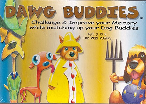 Dawg Buddies: Challenge & Improve Your Memory While Matching up Your Dog Buddies