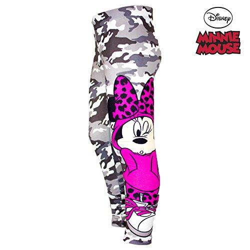 Disney Minnie Mouse, Ragazze Leggings Lunghezza Integrale, 3-8anni, nuova collezione 2016 Grey 7-8 anni