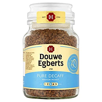 Douwe Egberts Pure Decaff Instant Coffee 95 g (Pack of 6) from SARZL