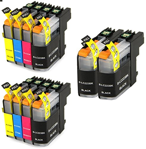 10-inksbroker-lc223-ink-cartridges-for-brother-dcp-j4120dw-mfc-j4420dw-mfc-j4620dw-mfc-j4625dw-mfc-j