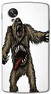 Timpax protective Armor Hard Bumper Back Case Cover. Multicolor printed on 3 Dimensional case with latest & finest graphic design art. Compatible with Google Nexus-5 Design No : TDZ-21806