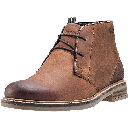 uomo-barbour-redhead-chukka-smart-marrone-ufficio-scarpe-in-pelle-stivali-alla-caviglia-marrone-tan-