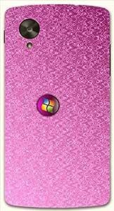 Striking multicolor printed protective REBEL mobile back cover for LG Nexus 5 / Google Nexus 5 D.No.N-L-13216-NX5