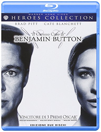 Il curioso caso di Benjamin Button (+copia digitale) [Blu-ray] [IT Import]