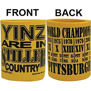 Pittsburgh Stiller Country W/scores Can Cooler from Gift House