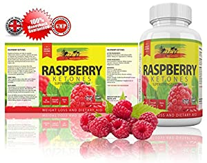 Raspberry Ketone by Rasta-Viti - CAFFEINE FREE Superior Quality Ketones - Shape Up for Summer NOW - 100% MONEY BACK GUARANTEE - 60 Strong 1000mg Capsules - 1-2 Month Supply - Weight Loss - Appetite Suppressant - READ THE REVIEWS - For Men and For Women -