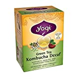 Yogi Teas Kombucha Decaf Green Tea Bag, 16 Count