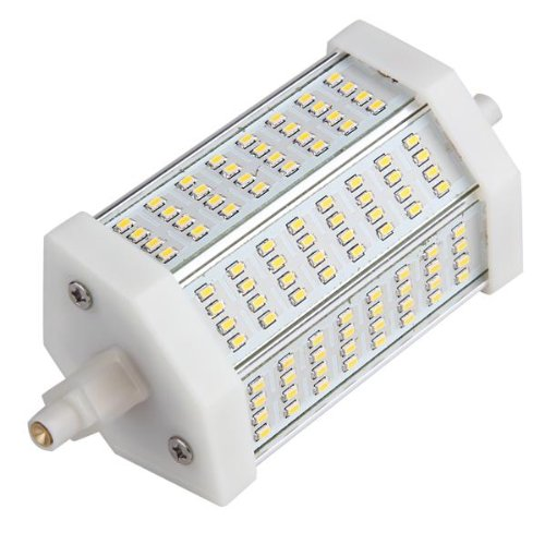 10w lampade lampadine r7s 118mm 42 led smd 5050 bianco for Beghelli r7s 78mm