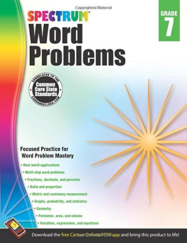 Download Ebook Word Problems, Grade 7 (Spectrum) Free PDF Online