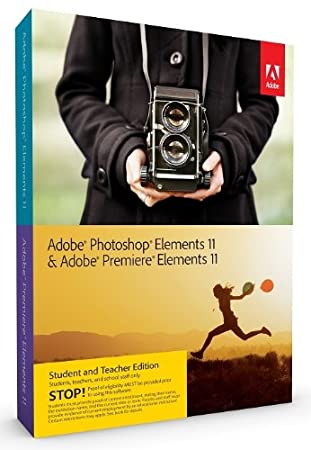 Adobe Photoshop Elements and Premiere Elements 11 Bundle, Student and Teacher Edition (PC/Mac)