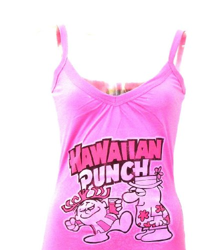 Hawaiian Punch Women's Vintage Tank Top T-shirt by Junk Food Clothing