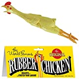 12 Pieces (1 Dozen) Bulk Lot Chickens / Original World Famous Novelty Yellow Rubber Chicken
