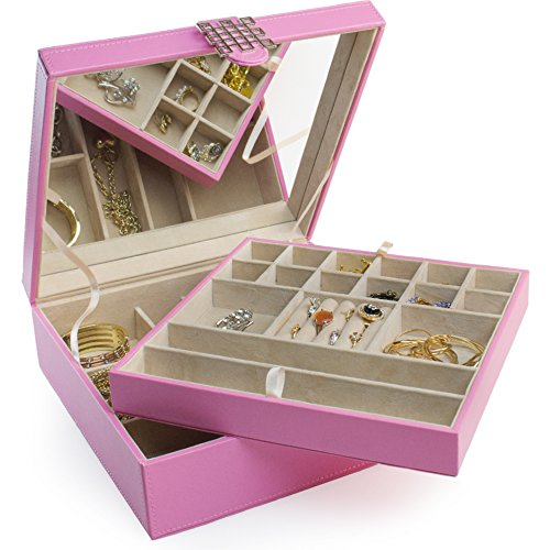 Jewelry Box - 28 Section Classic Jewelry Organizer
