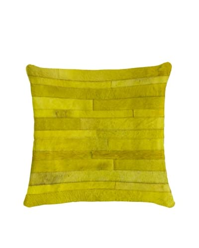 Natural Brand Torino Madrid Pillow, Yellow
