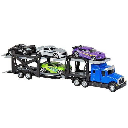 Fast Lane Small Car Carrier Set