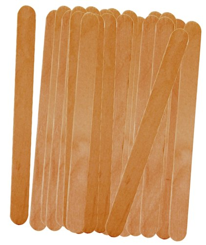Progressive International 50-Count Wood Freezer Pop Sticks, 1-Pack