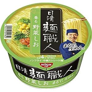 日清 麺職人 しお 86g×12個