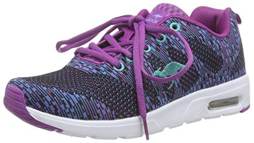 KangaroosKangacore Knit T - Scarpe fitness Unisex - Adulto , blu (Blau (navy/violet 468)), 38 EU