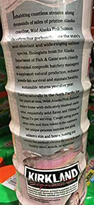 Kirkland Signature Wild Alaskan Pink Salmon 6/6 Ounce Cans by Kirkland