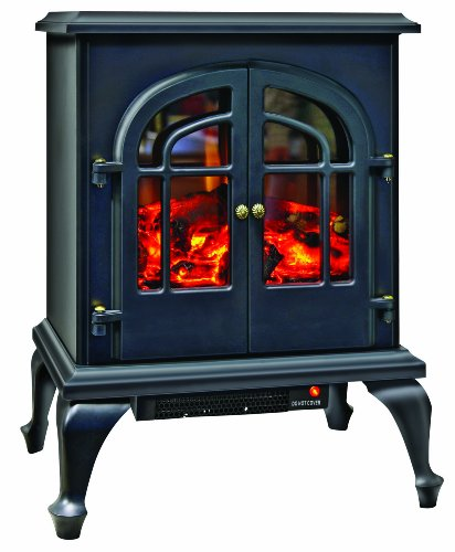 "Comfort Zone® 2-Door Electric ""Stove Style"" Electric Heater CZFP5"