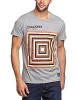 JACK & JONES Herren T-Shirt Slim Fit 12063794 TUFF