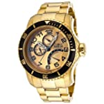 Invicta Pro Diver 15343 49mm Gold Pla...