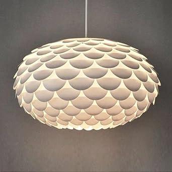 Modern Designer White Armadillo Artichoke Ceiling
