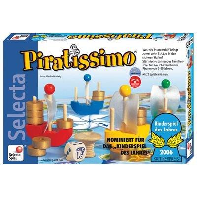 Selecta - 3585 - Jeu de Plateau - Piratissimo