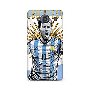 Motivatebox- Messi Rocks Premium Printed Case For Xiaomi Redmi 2s -Matte Polycarbonate 3D Hard case Mobile Cell Phone Protective BACK CASE COVER. Hard Shockproof Scratch-