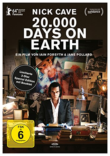 Nick Cave: 20.000 Days on Earth (3 Disc Limitierte Special Edition) [Blu-ray] [Limited Edition]