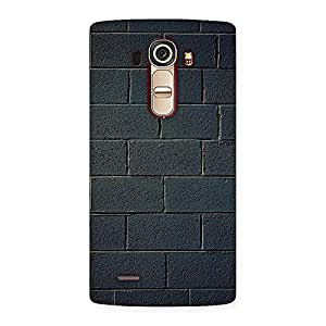 Cute Black Brick Wall Back Case Cover for LG G4