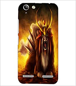 PrintDhaba Fantasy Creature D-1127 Back Case Cover for LENOVO VIBE K5 PLUS (Multi-Coloured)