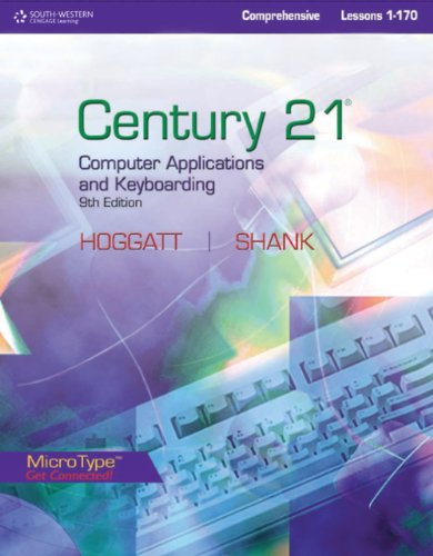 Style Manual for Hoggatt/Shank's Century 21TM Computer Applications and Keyboarding, Lessons 1-170, 9th