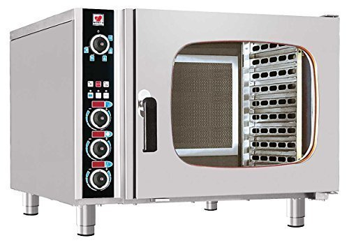 North Pro Gas FCN 160 Electric Convection/Steam Oven for 6x GN 1/1 - LxWxH: 985x940x760mm (400V-3N-AC-50Hz) (Made in Greece)