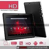 """ProntoTec Axius Series 7"""" Android 4.2 Tablet PC,HD 1024 x 600 Pixels,Cortex A8 Dual Core Processor, 512MB/6GB, Dual Camera, HDMI, G-Sensor, Google Play Pre-load - black"""