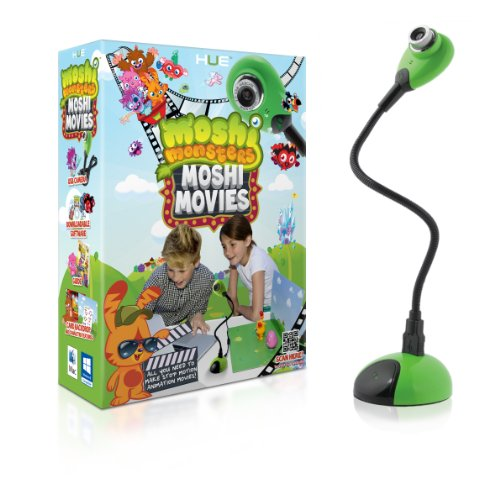 Moshi Monsters: Moshi Movies (Verde) Stop Motion Animation Movie Kit For Windows And Mac