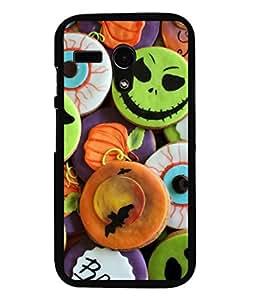 printtech Halloween Candy Sweets Back Case Cover for Motorola Moto G X1032::Motorola Moto G (1st Gen)