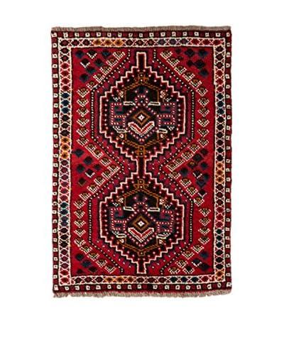 QURAMA Teppich Persian Shiraz rot/mehrfarbig 130 x 75 cm